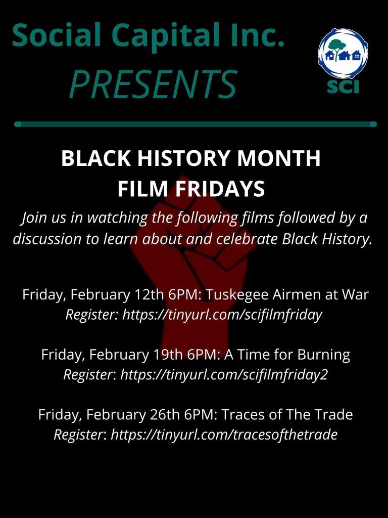 Black History Month Film Fridays