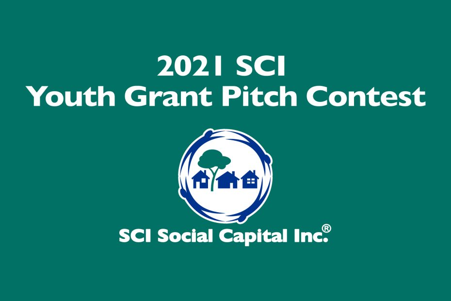 2021 SCI Youth Grant Pitch Contest branding