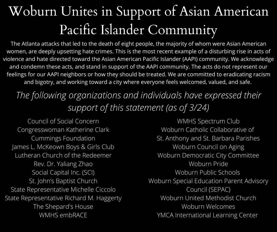 AAPI Support Statement