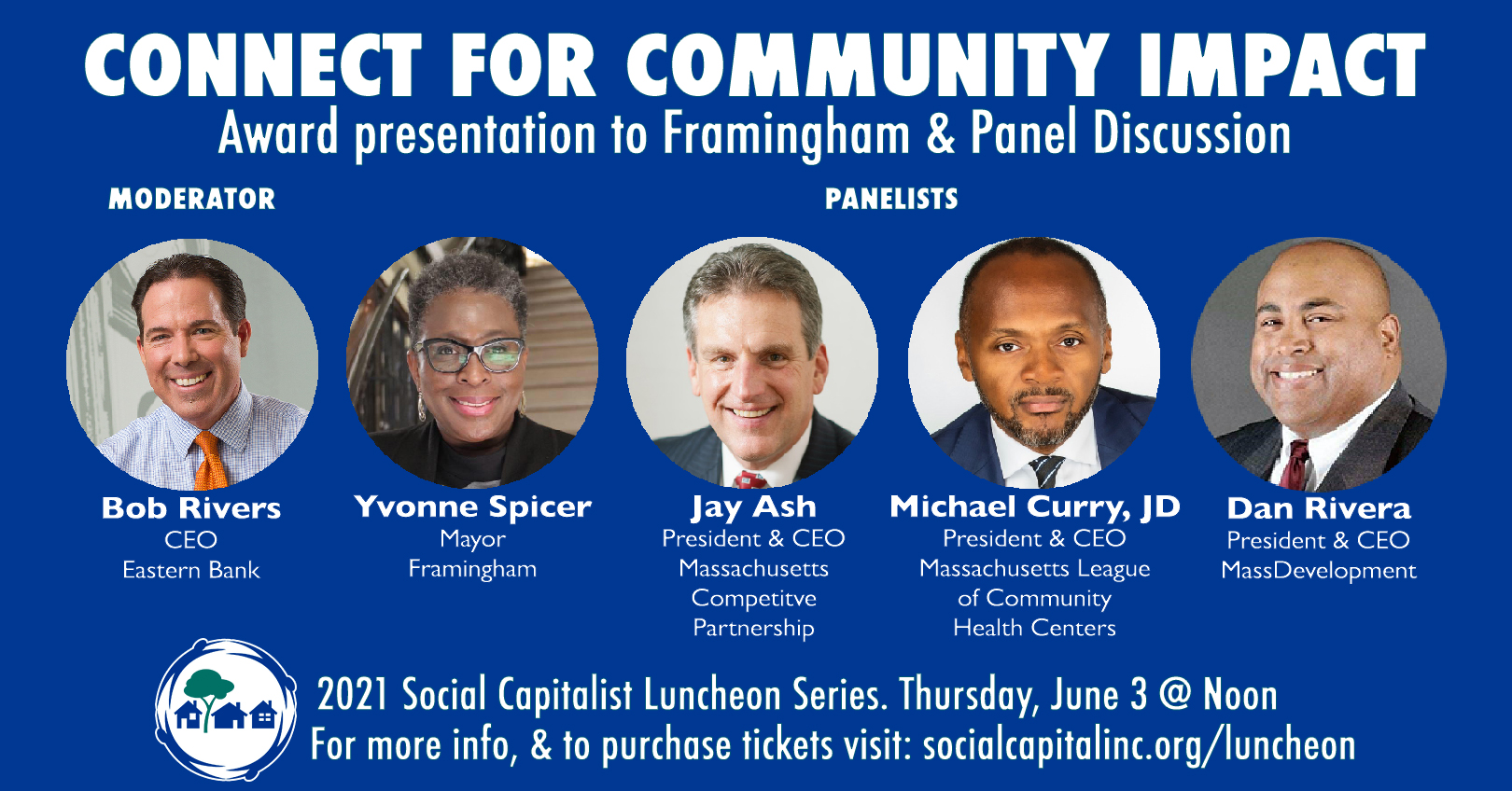 Connect for Community Impact Award & Panel Discussion
