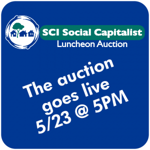 The Auction Goes Live 5/23 at 5pm