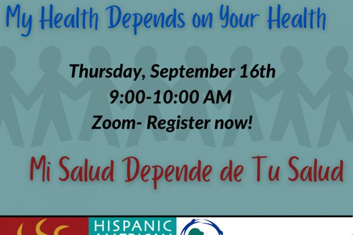 My Health Depends on Your Health / Mi Salud Depende de Tu Salud